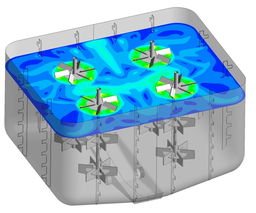 Evaluation of New Batch Mixing Tank Design using CFD at Fillworth
