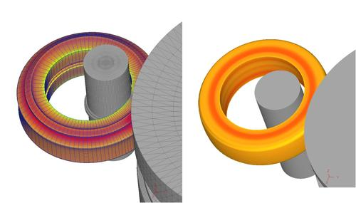 Ring Rolling Simulation (Courtesy: NAMTEC)