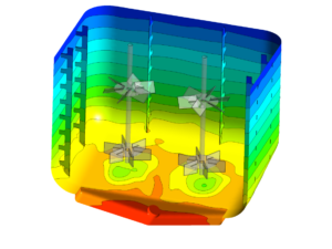 Mixing simulation (Courtesy: Fillworth (UK) Ltd)