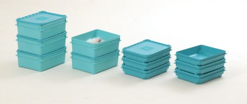 Reusable lidded boxes for the temporary storage and transportation of fish. (Courtesy: PPS)